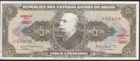 Brazil 5 Cruzeiro 1962-64 P176a UNC - Brazil