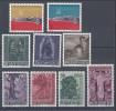 LIECHTENSTEIN - 1958-59 - N° 331 - 332 - 336 à 338 - 339 à 341 - NEUFS - X - TB - - Liechtenstein