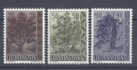 LIECHTENSTEIN - 1958-  SERIE N° 333 à 335 -  NEUFS - X - TB - - Liechtenstein