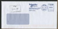 GERMANY - EMA -  LEIPZIG  SCHNEIDER  ELECTRIC - Poststempel - Freistempel