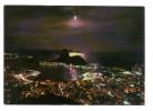 Bresil: Brasil Turistico, Rio De Janeiro RJ Cidade Maravilhosa, Luar Sobre A Baia De Guanabara, Timbre (15-2975) - Rio De Janeiro
