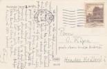K0021 - Czechoslovakia (1953) Marianske Lazne 1 (postcard: Spa - Russian Church) Stamp: Bedrich Smetana Museum Prague - Persönlichkeiten