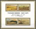 Südafrika  Mi.Nr. 472 - 475  Block 3    Postfrisch      100. Todestag Des Malers Thomas Baines - Ungebraucht