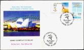 OLYMPICS-SYDNEY OLYMPICS-2000-TURKISH-NORTHERN CYPRUS-FDC-2000-FC-67-25 - Sommer 2000: Sydney