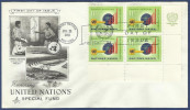 UNITED NATIONS SPECIAL FUND 1965 FDC FIRST DAY COVER DEVELOPMENT - Timbres