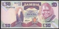 Zambia 50 Kwacha 1986-88 P28 UNC - Sambia