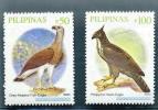 PHILIPPINES * SERIE 2v 2009C / 2009 C * DEFINITIVES * BIRDS OISEAUX EAGLE AIGLE * MNH - Philippines