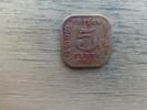 Sri Lanka  Ceylon  5  Cents  1945  Km 113 - Sri Lanka