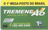 TARJETA DE BRASIL DE TREMENDAO MEGA POSTO DE TIRADA 5000 - Brésil