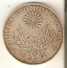 MONEDA DE PLATA DE ALEMANIA DE 10 MARK DEL AÑO 1972 - MUNICH OLIMPIADAS (COIN) SILVER,ARGENT. - [ 7] 1949-… : RFA - Rep. Fed. Alemana