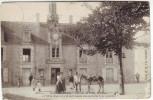 85 Noirmoutier L'hôtel De Ville Et Place Et L'ane Dont Le Trot M'a Laissé Des Souvenirs Si Cuisants (est Pas Sur Delcamp - Ile De Noirmoutier
