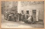 LAMURE Sur AZERGUES  (Rhône) - Hôtel Carton - Deschamps - Trés Beau Plan, Trés Animée - VOITURE - AUTOMOBILE - Lamure Sur Azergues
