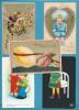 LOT 20 CPA - ILLUSTRATEURS FANTAISIES Dont Gaufrées - Cartes Postales