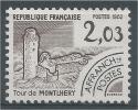 France, Château De Montlhéry, Île-de-France,  1982, MNH VF  Precancel - Precancels