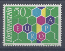 LIECHTENSTEIN - 1960 -   N° 355 - NEUF - X - TB - - Liechtenstein