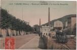 CPA 69 TARARE    La Gare Du Beaujolais Boulevard Garibaldi Train UN JOUR SEULEMENT - Tarare