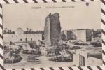 5AH2433 TUNISIE - TOZEUR - VIEILLE TOUR DE BLED EL HADAR     2  SCANS COIN LEGEREMENT PLIE - Túnez