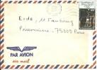 ! - Haute-Volta - Lettre Envoyée Par Avion De Ouagadougou Vers Paris (France) - 1 Timbre De 1984 - Haute-Volta (1958-1984)