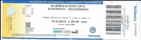 Ticket Football Mach EURO 2016 Slovakia Vs Macedonia - Tickets D'entrée