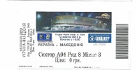Ticket Football Mach EURO 2016 Ukraina Vs Macedonia - Tickets - Vouchers