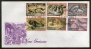 Papua New Guinea 2006 Snakes Reptiles Wildlife Fauna Sc 1229-34 FDC # 6483 - Snakes
