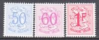 BELGIUM  429-31   * - 1951-1975 Heraldic Lion