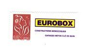 Lamouche 0.82 € Philaposte Personnalisé Autoadhésif Grande Vignette YT 3802Ba . Voir Le Scan . Cote Maury N° 63 : 16 € . - Personalized Stamps