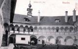 GMUNDEN (OÖ) - Schloß Ort Innenhof, Gel.1900?, Stempel Pinsdorf - Gmunden
