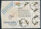 ARGENTINA -     1984  ,  Blumen , Flowers - Briefe U. Dokumente
