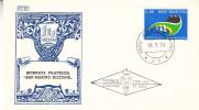 Journée Philatélique à Riccione - Saint Marin - Document De 1974 - Lettres & Documents