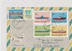 ARGENTINA   -    1981 , Flussschiffe ,m Fussball-WM 1978 - Briefe U. Dokumente
