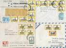 ARGENTINA   -   14 Belege - Luftpost
