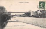 LES VANS -  Le Pont Suspendu  ( Route Des Vans à Joyeuse ) - Francia