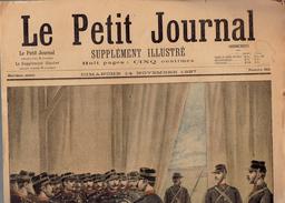 LE PETIT JOURNAL N° 365 - 14 Novembre 1897 Canon Maroc Insurgé - Kranten