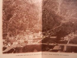 1631) TORINO GROSCAVALLO PIALPETTA VAL GRANDE DI LANZO NON VIAGGIATA PRIMI ANNI DEL 900 RARA CARTOLINA DOPPIA - Non Classés