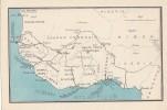 Afrique -  AOF -  Carte Géographique - Sudan
