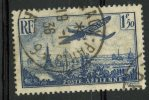 France 1936 1.50f Plane Over Paris Issue #c9 - Airmail