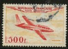 France 1954 500f Jet Plane, Issue #c31 - Airmail