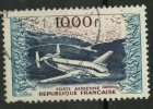 France 1954 1000f Provence, Issue #c32 - Airmail