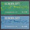 Kr_ Norwegen - 2 Markenheftchen Mi.Nr. 742 + 743 - Postfrisch MNH - Europa CEPT - Markenheftchen