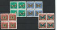 EC - 1964 - 1140-1442 - SCHMETTERLINGE - MARIPOSAS - BUTTERFLY-  - SATZ KOMPLETT  - MNH - POSTFRISCH - **   - ECUADOR - Equateur