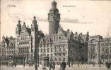AK/Leipzig (Sachsen) - Neues Rathaus - Gel. 1907 - Leipzig