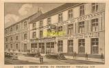 85 Luçon, Cp Publicitaire Pour Le Grand Hotel Du Croissant, Note Manuscrite Au Verso - Lucon