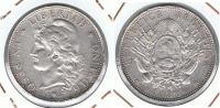 ARGENTINA PESO 1882 PLATA SILVER Wa PATAGON - Argentina