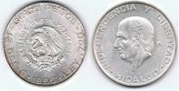MEXICO 5 PESOS 1956 PLATA SILVER Wa2 - México