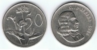 SUDAFRICA 50 CENT RAND 1966 Wa - Sudáfrica