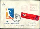 ARGENTINA - Sobre Marca Especial 100º Años Fundación Club De Fútbol ALUMNI (octubre 1995) - Equipos Famosos