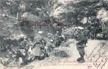(31) Préparatif De La Soupe Derrière Le Château De Montlaur 1902 - Soldats Militaires Militaria - 2 SCANS - Other Municipalities