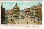 Brussel, Bruxelles, Perspective De La Place De Brouckère (pk24440) - Places, Squares