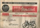 Le Magazine De L'HOMME MODERNE , POUR VOUS MONSIEUR ,  N° 191, 1962 , 16 Pages , Frais Fr : 1.90€ - Periódicos